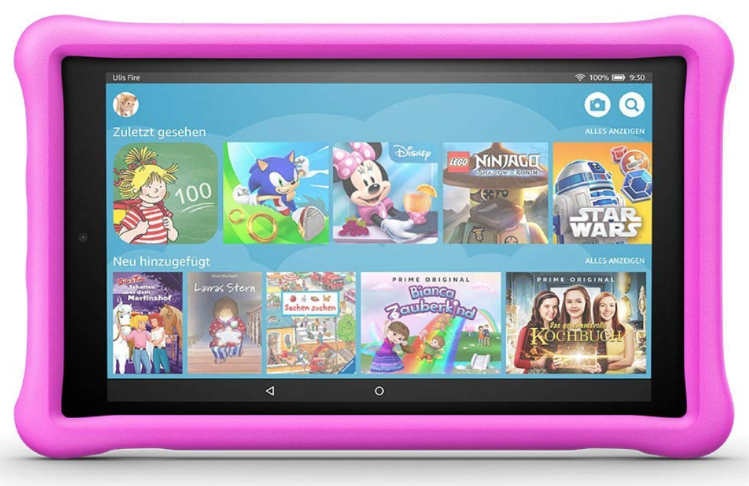 Test: Fire HD 10 Kids Edition-Tablet