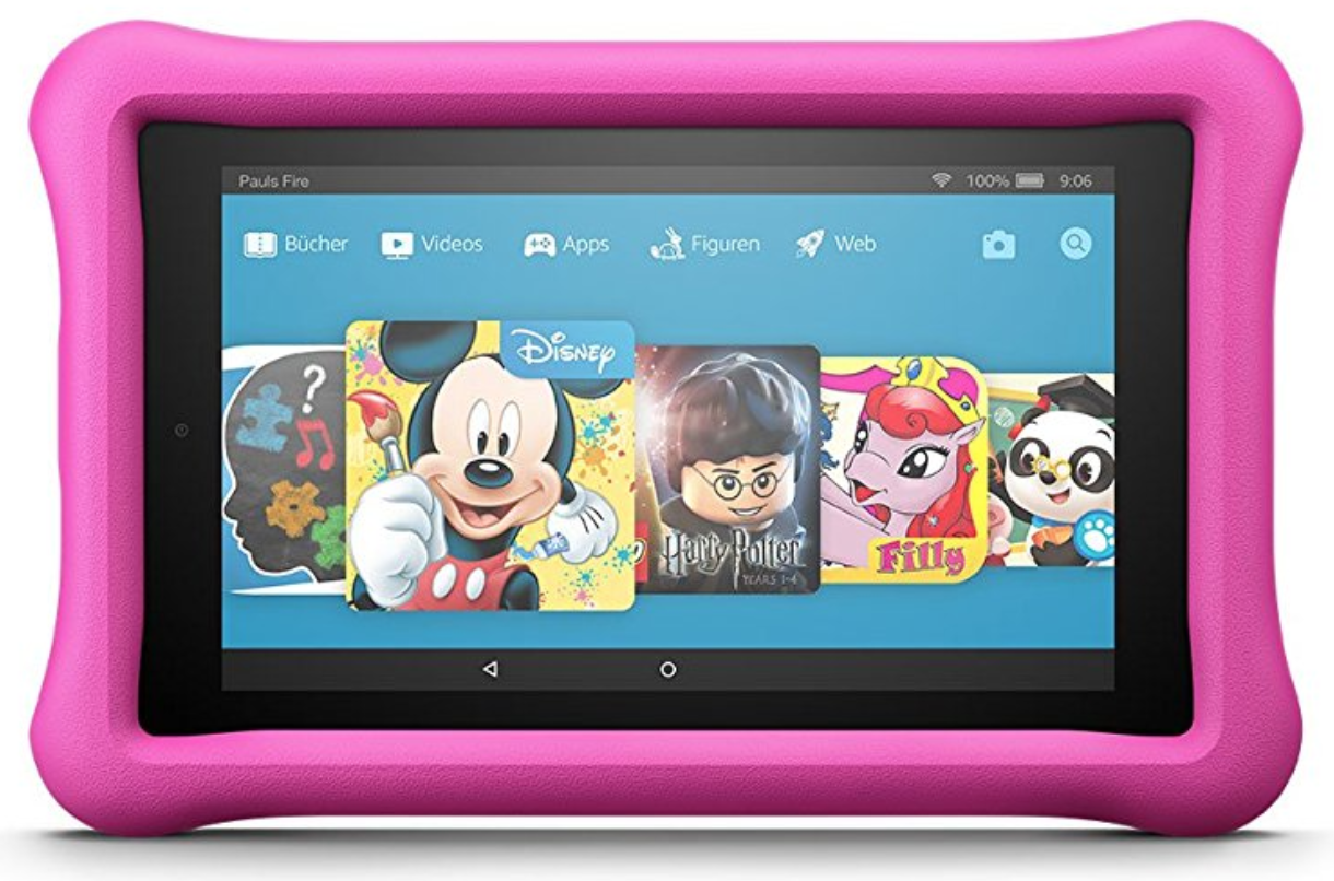 Test: Fire HD 8 Kids Edition
