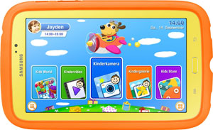 Test: Samsung Galaxy Tab 3 Kids